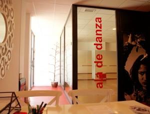 recepción academia de baile Almería