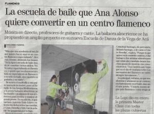 Ana Alonso centro de flamenco Almería