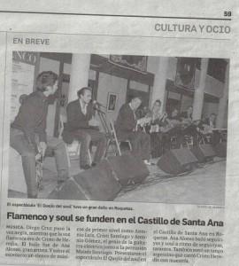 flamenco y Soul en Roquetas