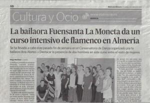 La Moneta y Ana Alonso