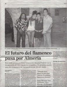 el futuro del flamenco en Almería
