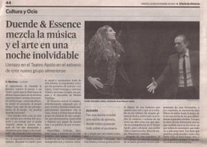 flamenco en el teatro apolo