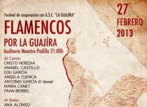 festival flamencos por la guajira Almería